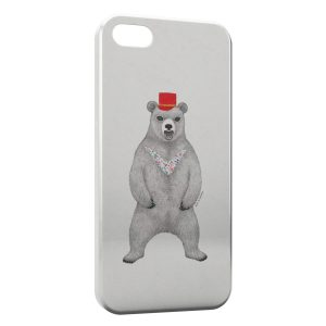 Coque iPhone 4 & 4S Ours Style Design