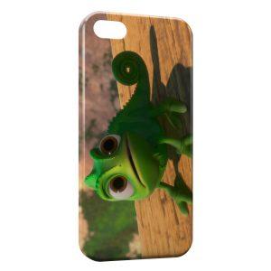 Coque iPhone 4 & 4S Pascal Caméléon Raiponce Green