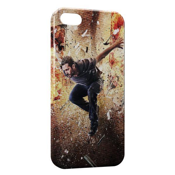 Coque iPhone 4 & 4S Paul Walker Saut Fire