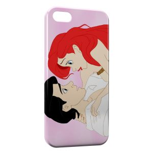 Coque iPhone 4 & 4S Petite sirène Ariel Prince Eric Disney