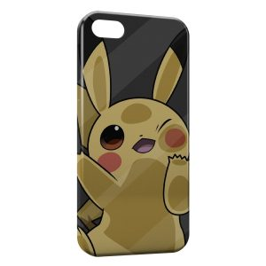 Coque iPhone 4 & 4S Pikachu Cute Pokemon 22