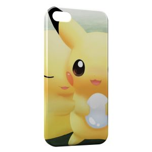 Coque iPhone 4 & 4S Pikachu Pokemon Graphic Love