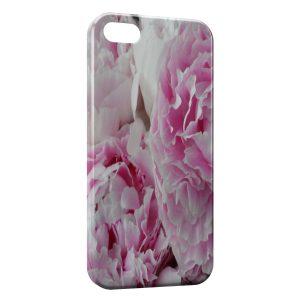 Coque iPhone 4 & 4S Pivoine Fleur Rose