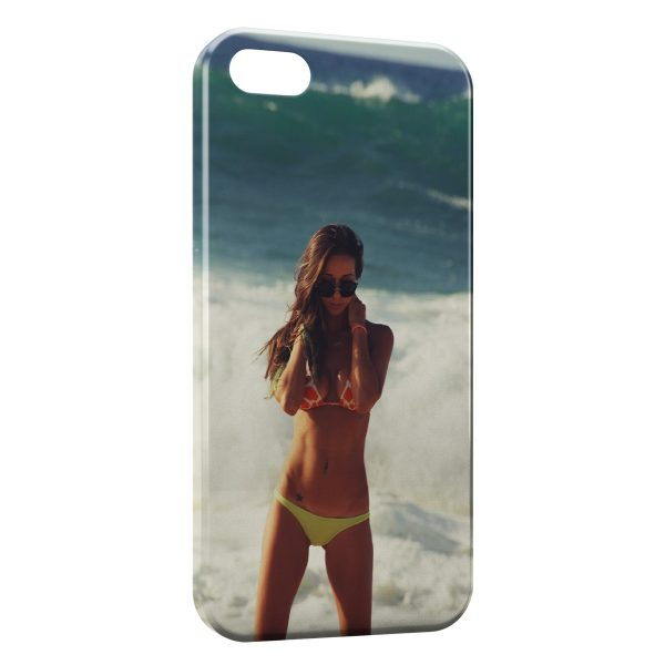 Coque iPhone 4 & 4S Plage & Bikini 2