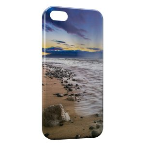 Coque iPhone 4 & 4S Plage Paysage