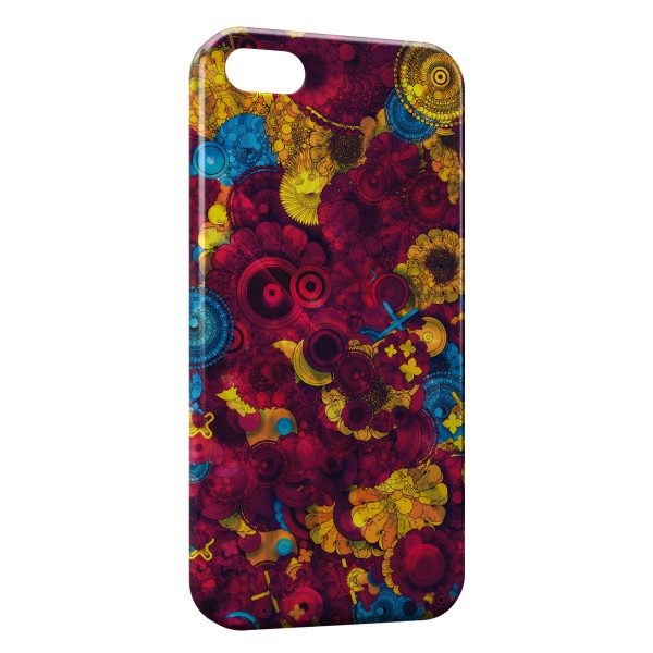 Coque iPhone 4 & 4S Psychedelic Style 2