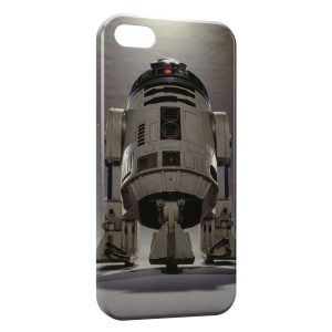 Coque iPhone 4 & 4S R2D2 Star Wars Robot 3