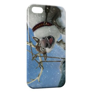Coque iPhone 4 & 4S Reine des neiges elan cerf