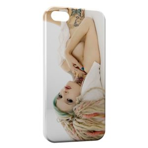 Coque iPhone 4 & 4S Sexy Dread Girl 2
