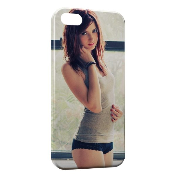 Coque iPhone 4 & 4S Sexy Girl 18
