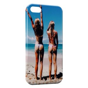 Coque iPhone 4 & 4S Sexy Girl Beach 13