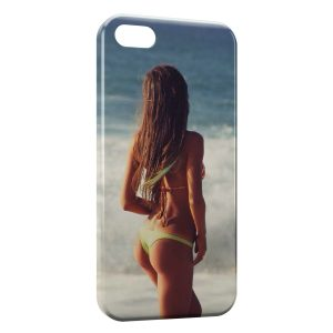 Coque iPhone 4 & 4S Sexy Girl Beach