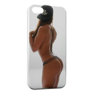 Coque iPhone 4 & 4S Sexy Girl Casquette