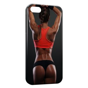 Coque iPhone 4 & 4S Sexy Girl Fitness