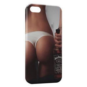 Coque iPhone 4 & 4S Sexy Girl Jack Daniels