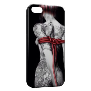 Coque iPhone 4 & 4S Sexy Girl Tatouages