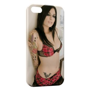Coque iPhone 4 & 4S Sexy Girl Tattoo 2