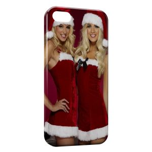 Coque iPhone 4 & 4S Sexy Noel Girl