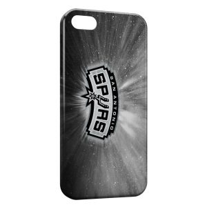 Coque iPhone 4 & 4S Spurs BasketBall