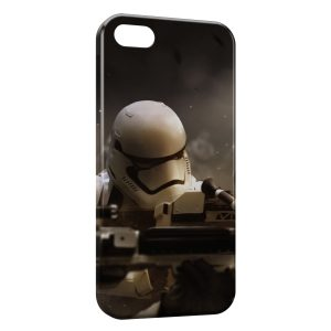 Coque iPhone 4 & 4S Star Wars 7 Millenium StormTrooper