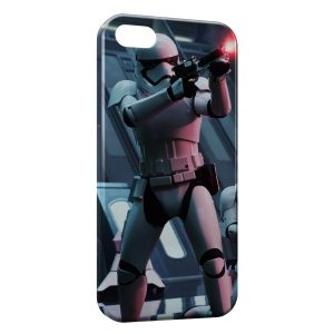 Coque iPhone 4 & 4S Stormtrooper Star Wars Graphic 3 Fire