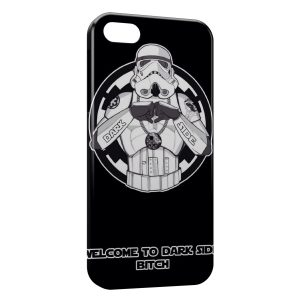 Coque iPhone 4 & 4S Stormtrooper Star Wars Welcome to Dark Side
