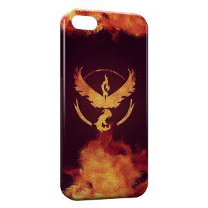 Coque iPhone 4 & 4S Sulfura Pokemon Feu Oiseau