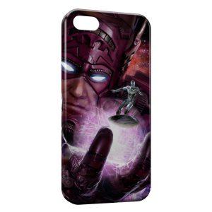 Coque iPhone 4 & 4S Surfeur d'argent