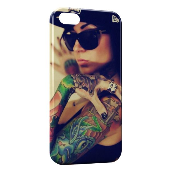 Coque iPhone 4 & 4S Swag Sexy Girl