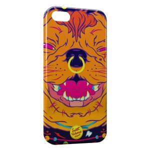 Coque iPhone 4 & 4S Sweet Violence Dog