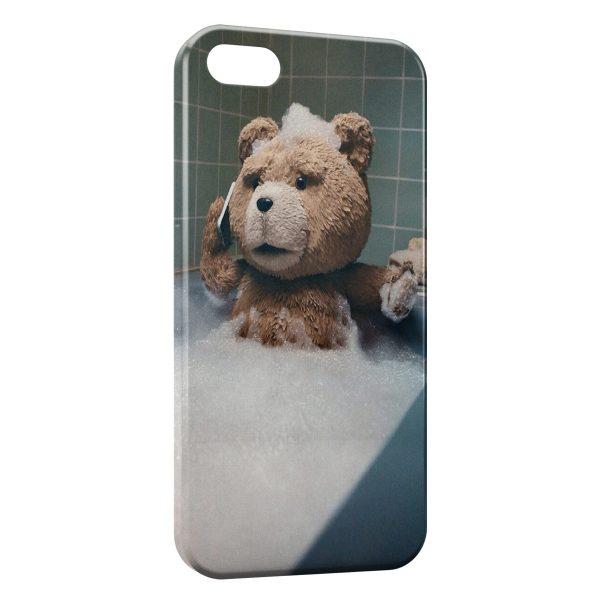 Coque iPhone 4 & 4S Ted Ourson Baignoire