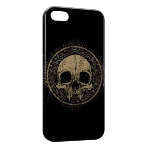 Coque iPhone 4 & 4S Tete de Mort Black