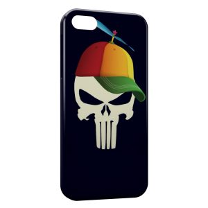 Coque iPhone 4 & 4S Tete de mort YEAH