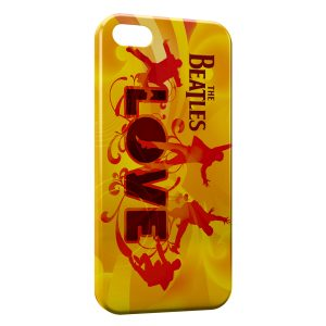 Coque iPhone 4 & 4S The Beatles LOVE