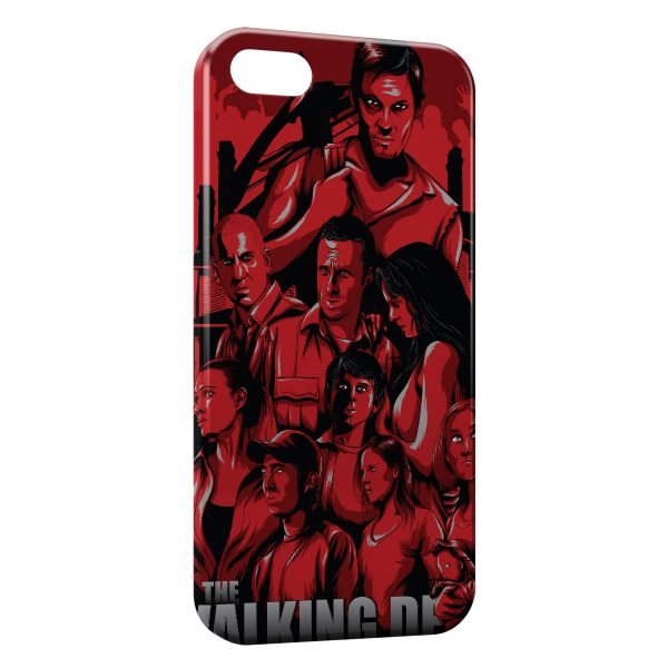 Coque iPhone 4 & 4S The Walking Dead 5