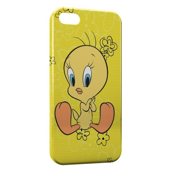 Coque iPhone 4 & 4S Titi Flowers Yellow Style