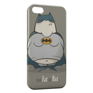 Coque iPhone 4 & 4S Too Fat to Bat Batman