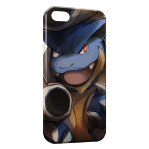 Coque iPhone 4 & 4S Tortank Pokemon Painted