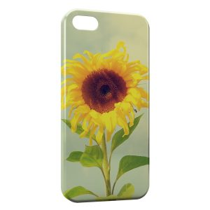 Coque iPhone 4 & 4S Tournesol