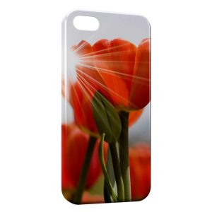 Coque iPhone 4 & 4S Tulipe