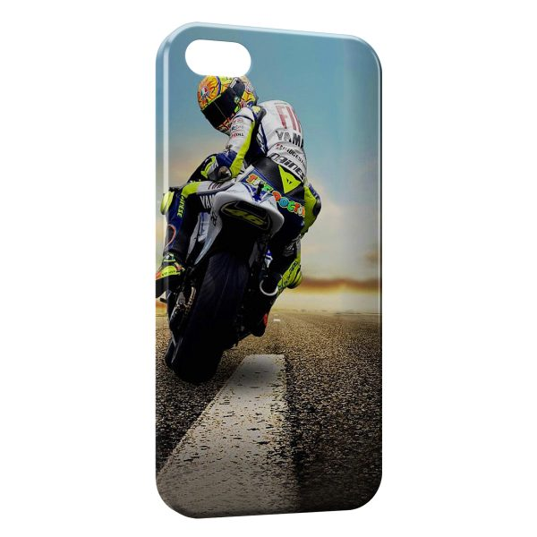 Coque iPhone 4 & 4S Valentino Rossi Moto On Road 3