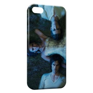 Coque iPhone 4 & 4S Vampire Diaries Nina Dobrev Paul Wesley Ian Somerhalder 2
