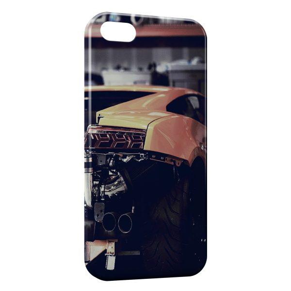 Coque iPhone 4 4S Voiture de Luxe Garage 600x600