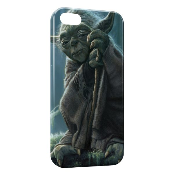 Coque iPhone 4 & 4S Yoda Star Wars 4 Sage