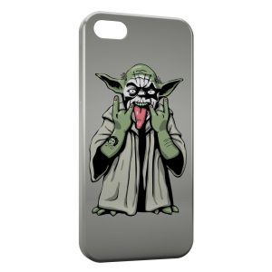 Coque iPhone 4 & 4S Yoda Star Wars Yo