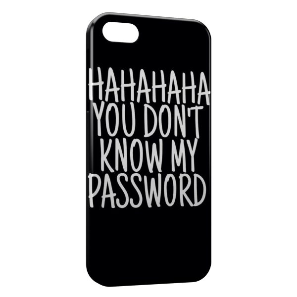 Coque iPhone 4 & 4S You don't Know my Password