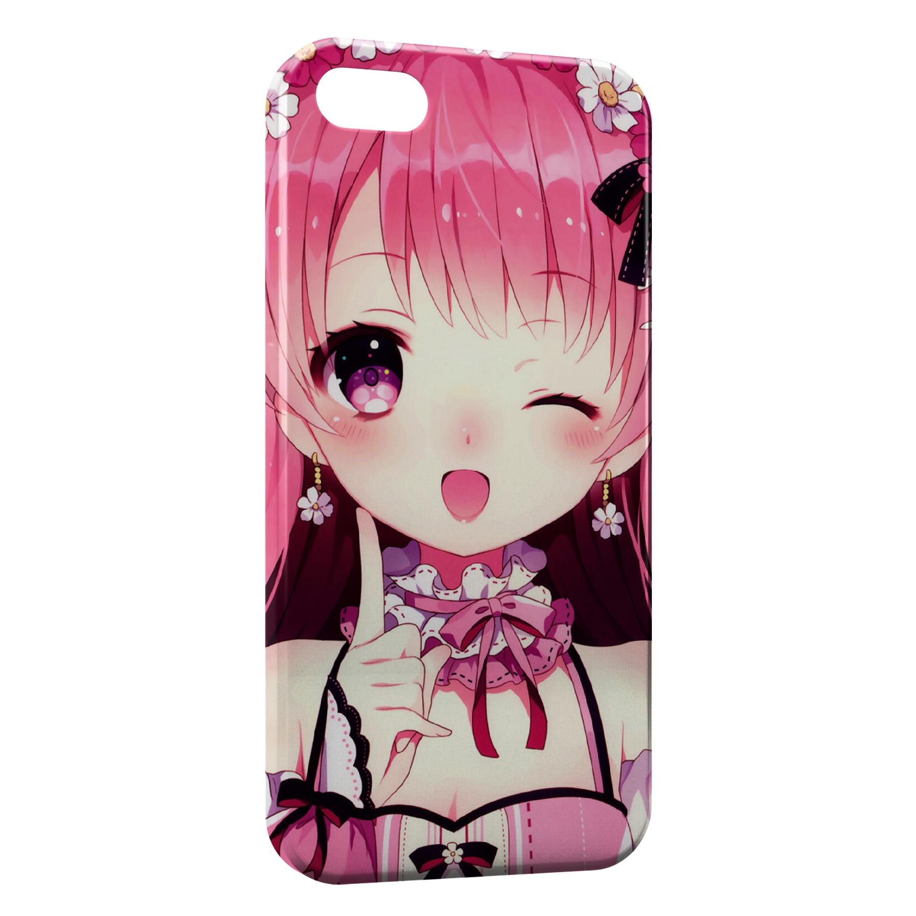 Coque iPhone 6 6S Cute Girl Manga