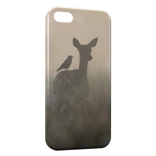 Coque iPhone 6 & 6S Faon Biche Romantique