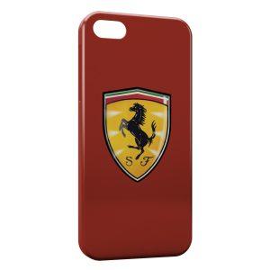 Coque iPhone 6 & 6S Ferrari Logo Cheval Graphic Red