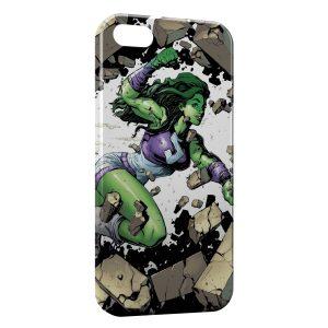 Coque iPhone 6 & 6S Hulk Girl